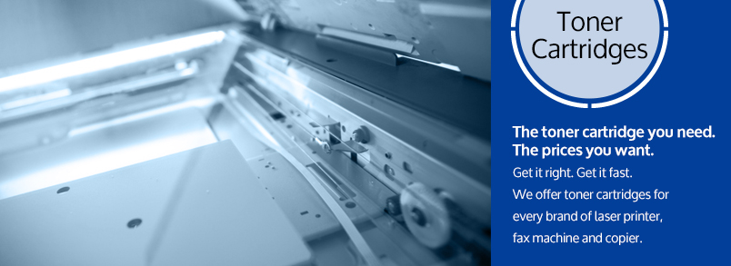 Contact Century Business Products for your toner cartridge for your laser printer, fax machine and copier.